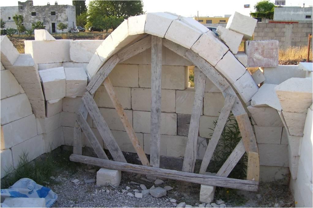 T cnicas de construcci n en el salento for Nuove planimetrie per la costruzione di case