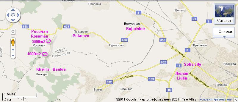 Vendita terreno edificabile bankia sofia bulgaria - Agenzia immobiliare sofia bulgaria ...