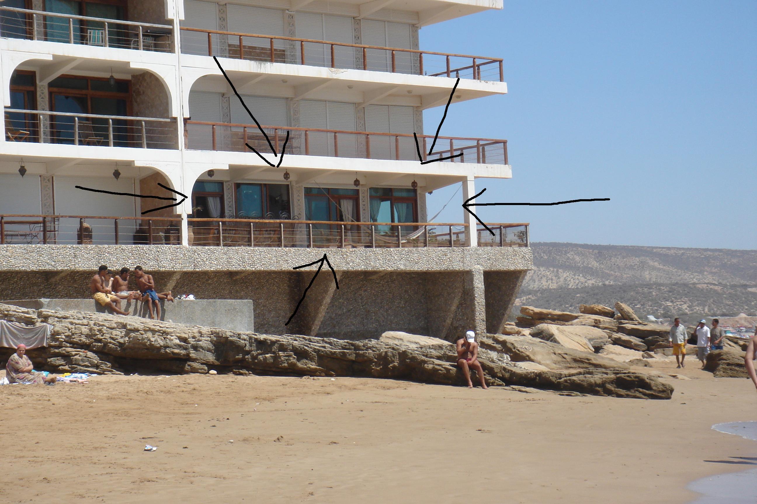 verkoop 3 slaapkamers taghazout agadir marokko beach
