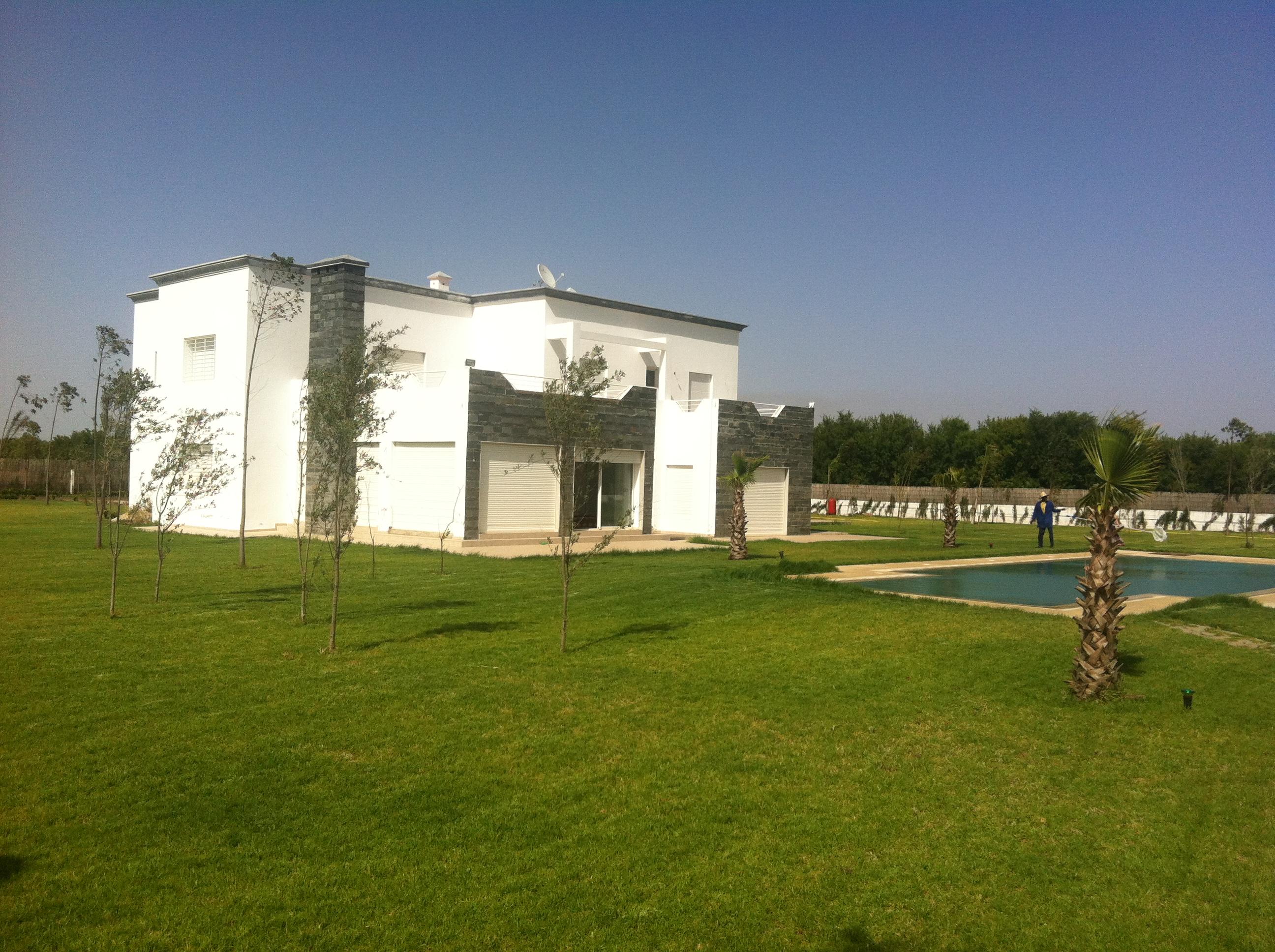 Vente Villa Berchid Casablanca Maroc Rte Had Swalem