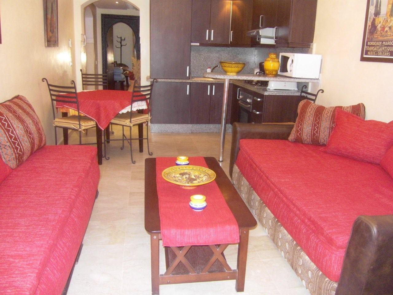 Verkoop 2 slaapkamers marrakech marrakech marokko rue du capitaine arrigui - Slaapkamer marokko ...