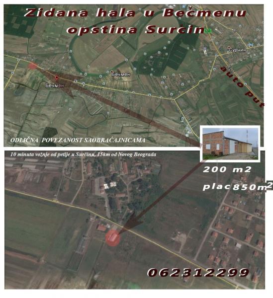 For Sale Business Belgrade Belgrade Serbia Surcin Becmen